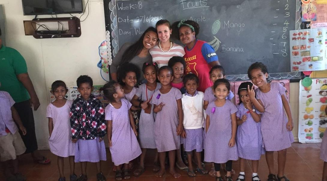 Fidschi-Inseln Kinderbetreuung